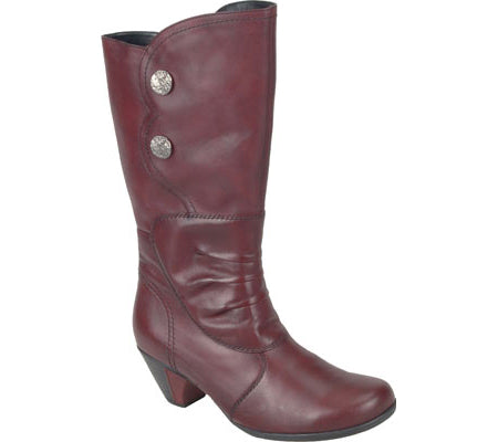 Remonte Women's •D1295 Mid Calf• Black Boot - ShooDog.com