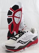 Men's Saucony ProGrid Trex Cross •Red/Black/White• Training Shoe - ShooDog.com