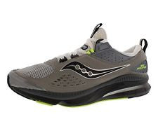 Men's Saucony Grid Profilel  •Grey Black/Citron• Running shoes - ShooDog.com