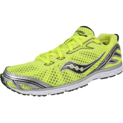 Men's Saucony  Type A4  •Yellow/Black• Competition Road Racing Shoe - ShooDog.com