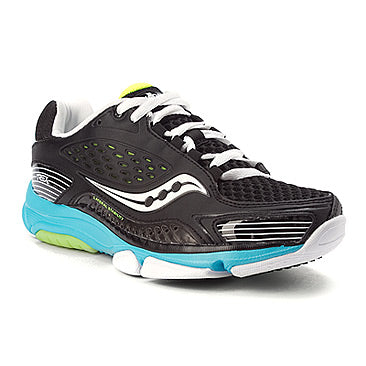 Women's Saucony ProGrid TREX •Black/Blue/Citron• Cross Training Shoe - ShooDog.com