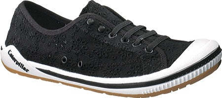 Women's Caterpillar •Sly Fab• Lifestyle Sneaker  -  Black - ShooDog.com