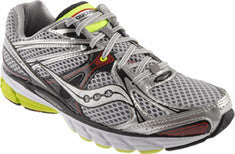 Mens Saucony ProGrid Guide 6 •Grey/Silver/Red• Running shoes - ShooDog.com