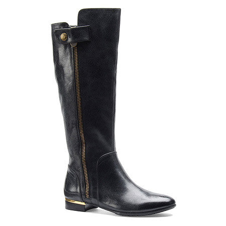 Isola Women's Aali •Black Leather• Riding Boot - ShooDog.com