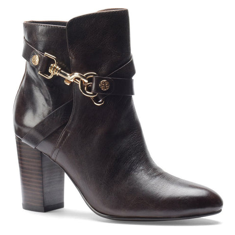 Isola Women's Colleen  •Java Brown Leather• Harness Bootie