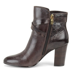 Isola Women's Colleen  •Java Brown Leather• Harness Bootie - ShooDog.com