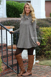 Flared Fun Sweater Tunic Dress