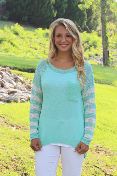 Just Breathe Sweater CLEARANCE
