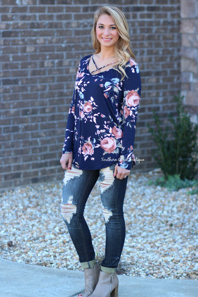 Floral Expression Top