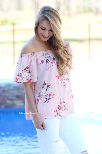 Blooming Beauty Tunic Top FINAL SALE ITEM!