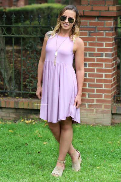 Summer Fun Dress, Lilac