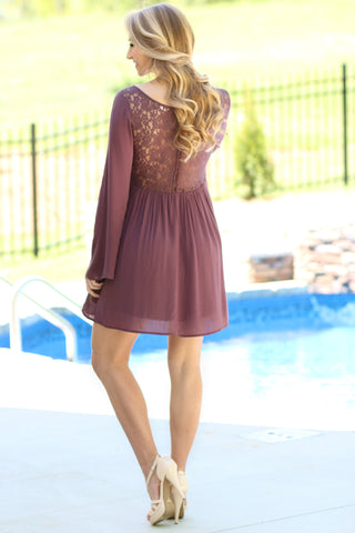 Hear The Bells Lace Dress