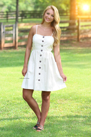 Sweet Escape Dress, Ivory