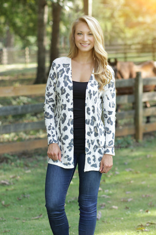 Feeling Sassy Leopard Cardigan - FINAL SALE ITEM!