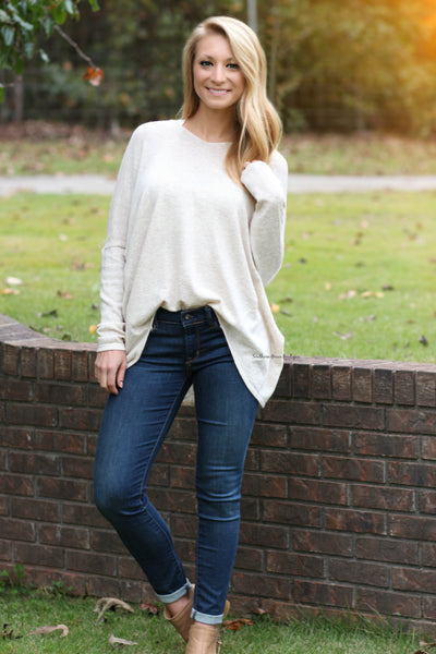 Keep it Comfy Sweater - Beige