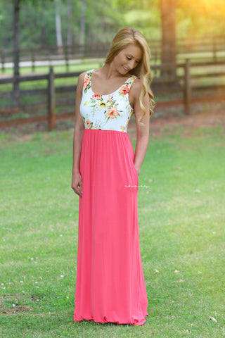 Beautiful Bloom Maxi Dress