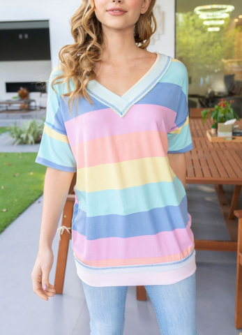 Catch My Drift Striped Top FINAL SALE ITEM!