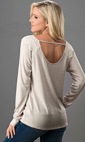 Fall Into Place Knit Top