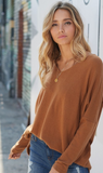 Keep it Comfy Sweater - Camel