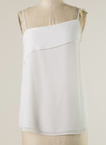 Simple Beauty Tank, White