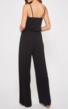 Going For Comfort Jumpsuit (Black & Navy)