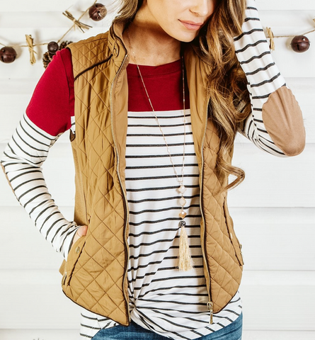 Casual Nights Quilted Vest