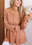 Warm Me By The Fire Sweater, Apricot