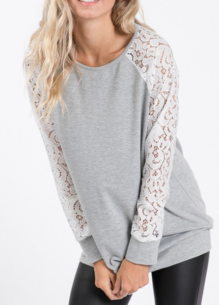 For The Love of Lace Lightweight Sweater