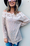 Classy By Nature Lace Sweater