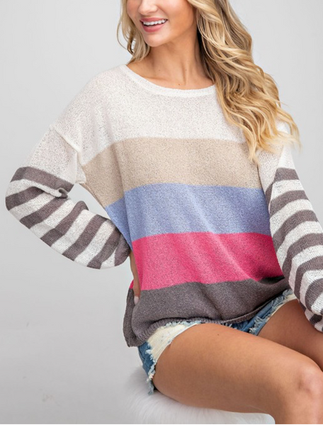 Simple Choices Sweater