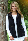 Ready For The Chill (lined) Vest - Black