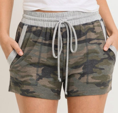 Lounging Days Camo Shorts FINAL SALE ITEM!