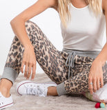 Perfectly Comfy Cheetah Joggers