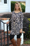 Dreaming of Damask Tunic