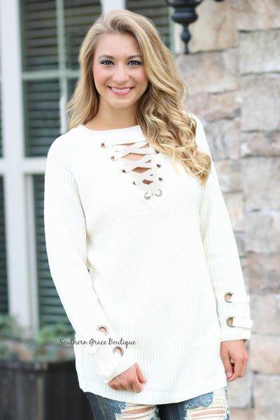Perfect Vision Sweater - Ivory