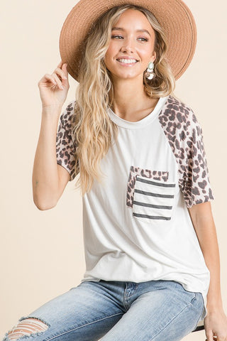 Fierce And Fab Leopard Top
