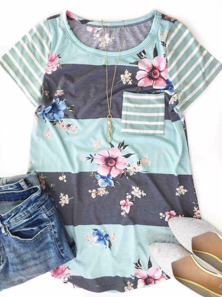 Mix It Up Floral Top