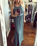 Casual Day Maxi Dress, Emerald