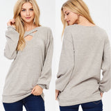 Turn To Cozy Knit Top