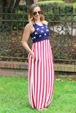 All American Girl Maxi Dress