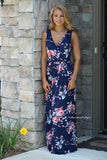 Fabulous Floral Maxi Dress
