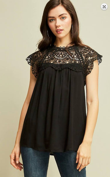 Sweet Embrace in Lace Top - PREORDER
