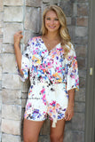 Floral Dreams Romper
