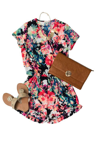 Petal Dreams Romper