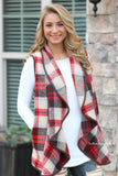 Bonfire Nights Vest - Red