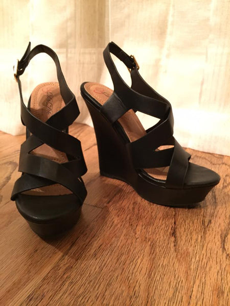 Pep In Your Step Wedges - Black