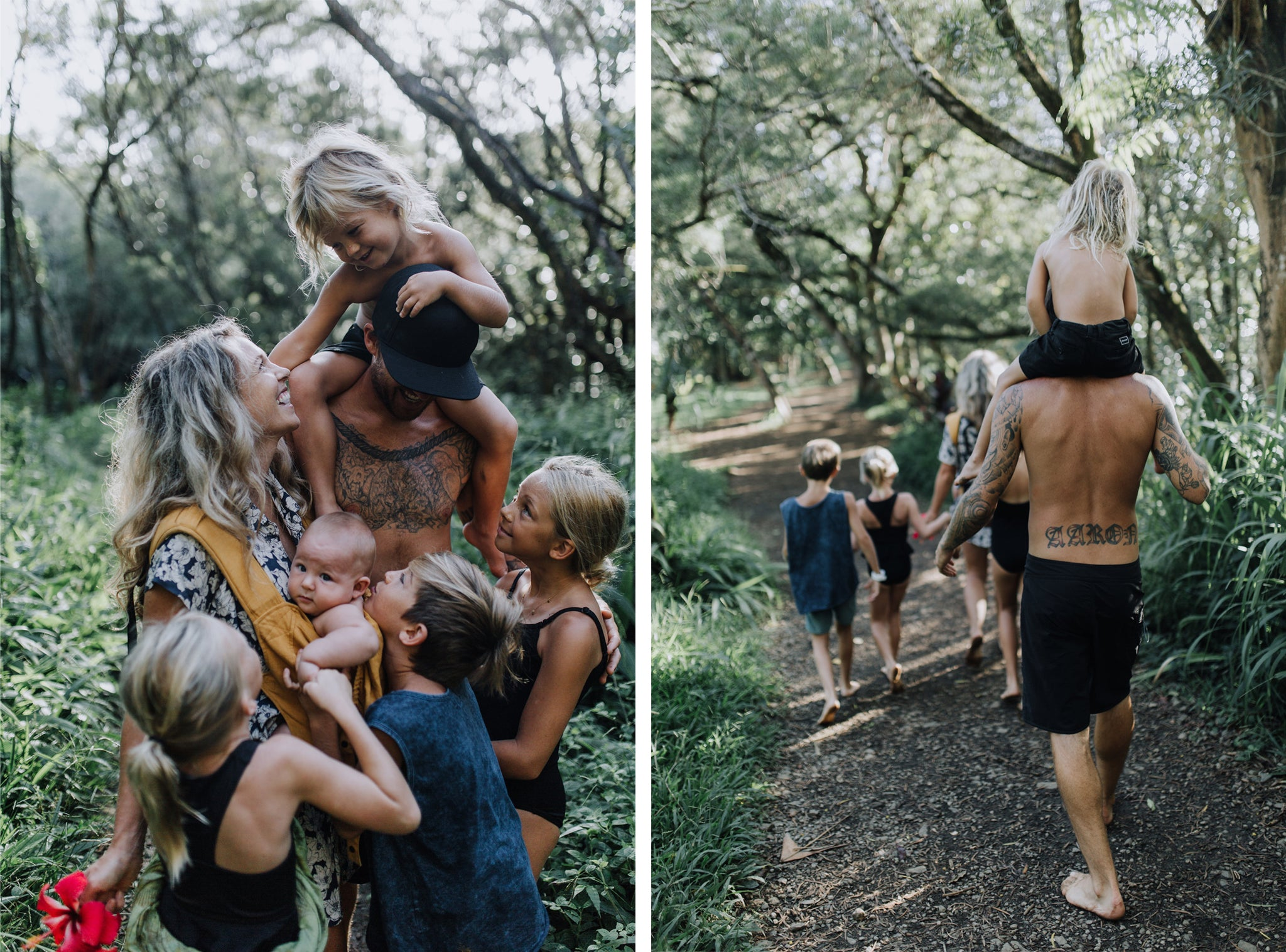 big family, maui, vegan, nature, travel, natural, love, twin falls