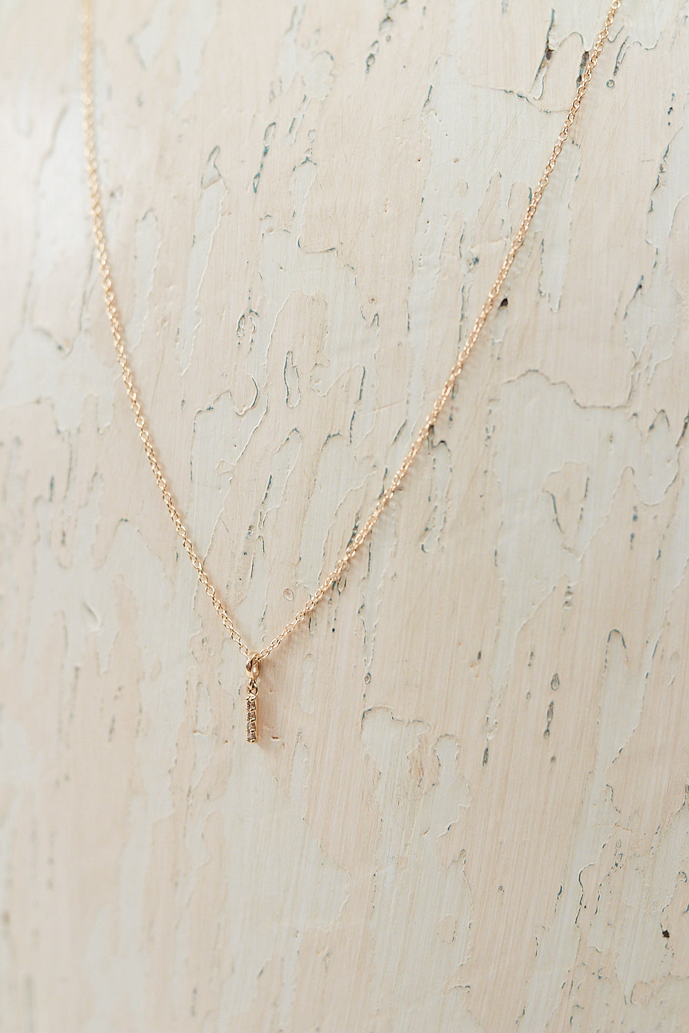 Sprinkle Diamond Pendant Necklace