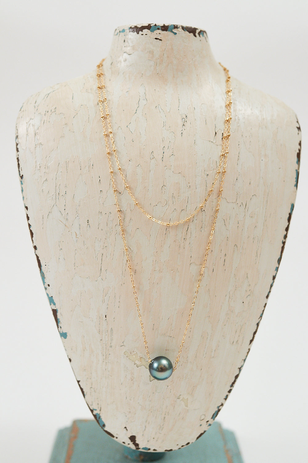 "36"" Floating Pearl Necklace"