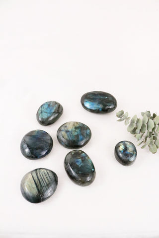 Polished Labradorite Pebble